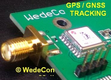 GPS tracking GSM kontrol elektronikudvikling prototype