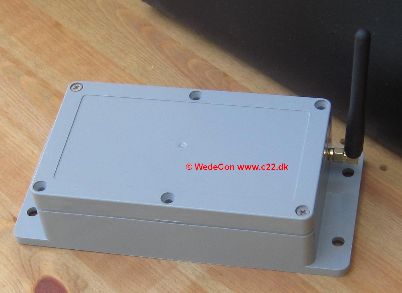 GSM overvågning  Lorawan kontrol elektronikudvikling produktmodning