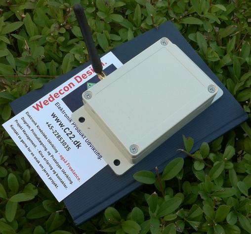 Elektronikudvikling gsm RED 2014/53/EU Certificate Skræddersyet GSM module